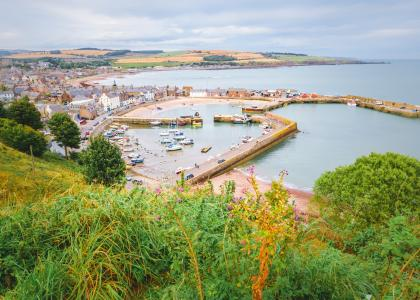 Image of Stonehaven harbour in Aberdeenshire