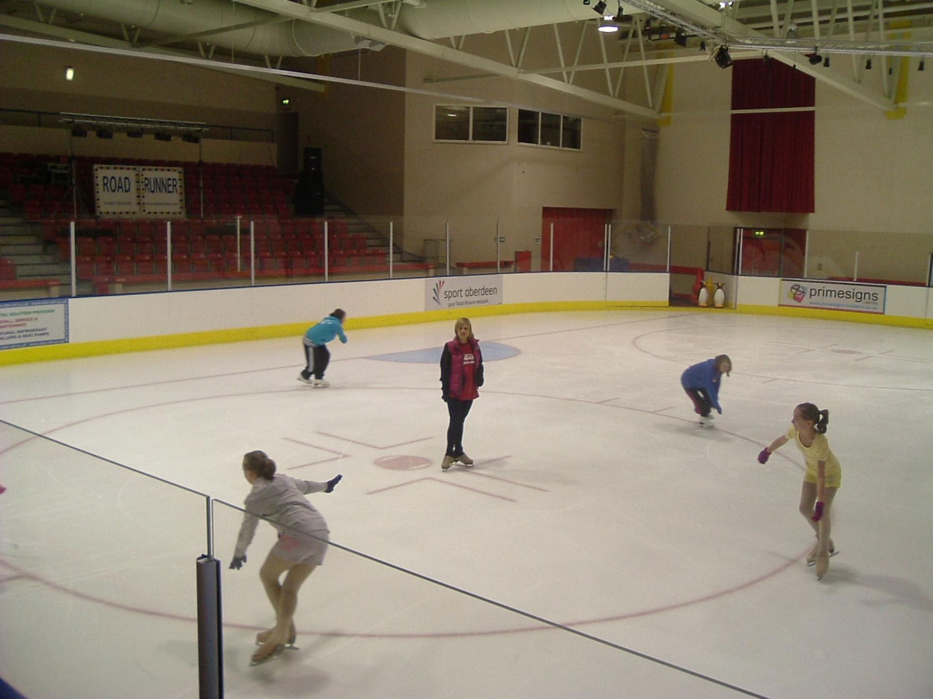 linx ice arena visitaberdeenshire