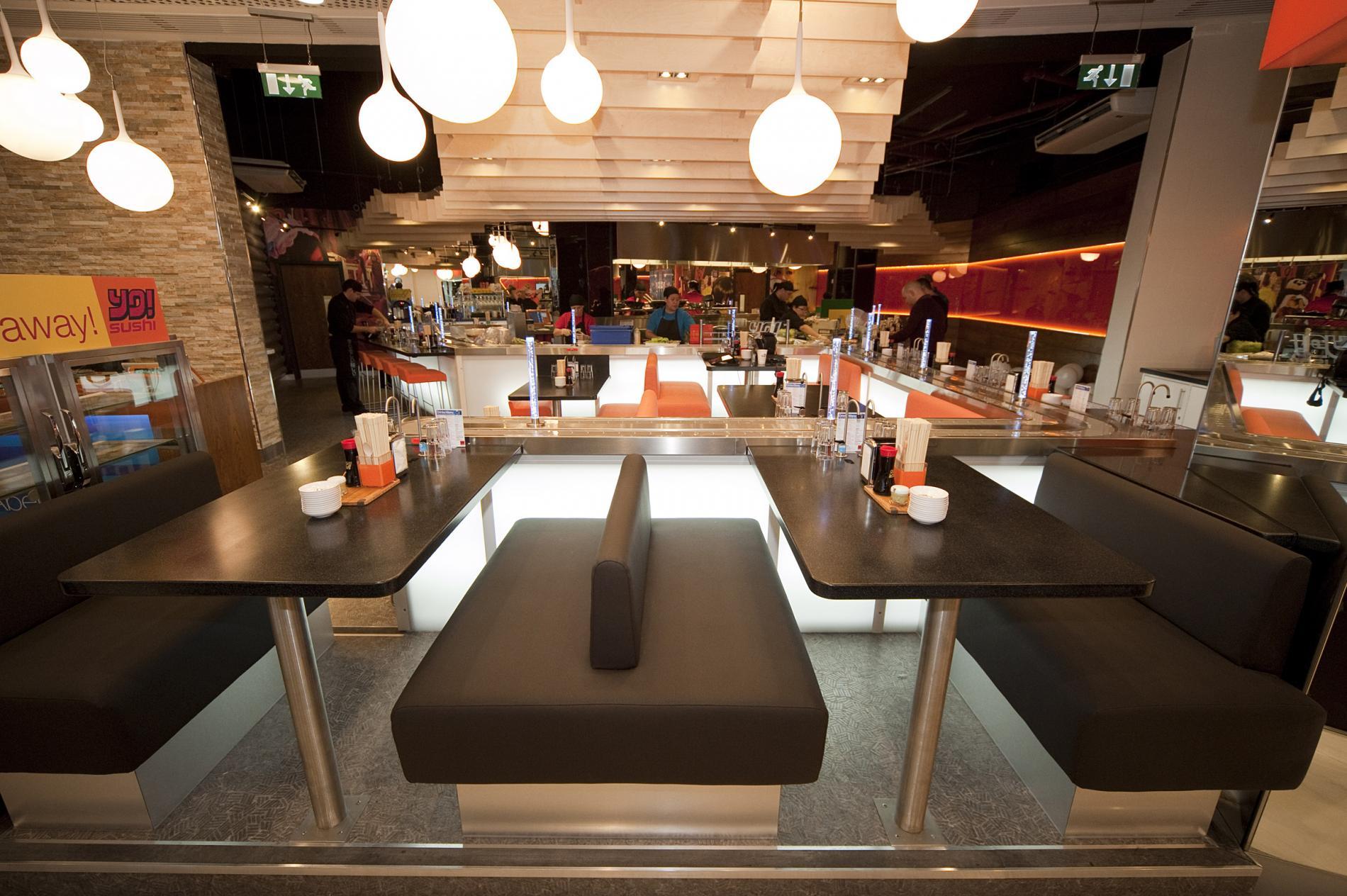 Unique dining at yo sushi bar aberdeen for Accord asian cuisine menu