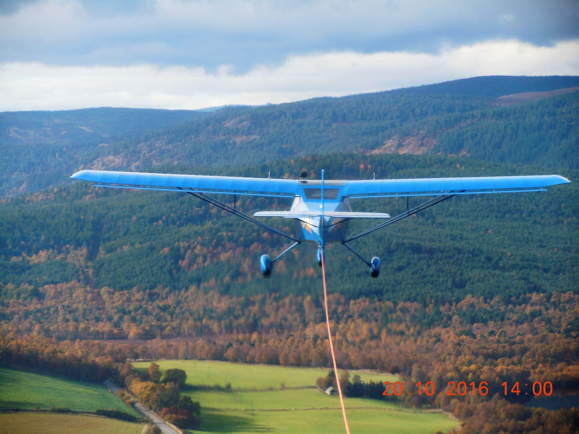 Deeside Gliding Club In Aberdeenshire