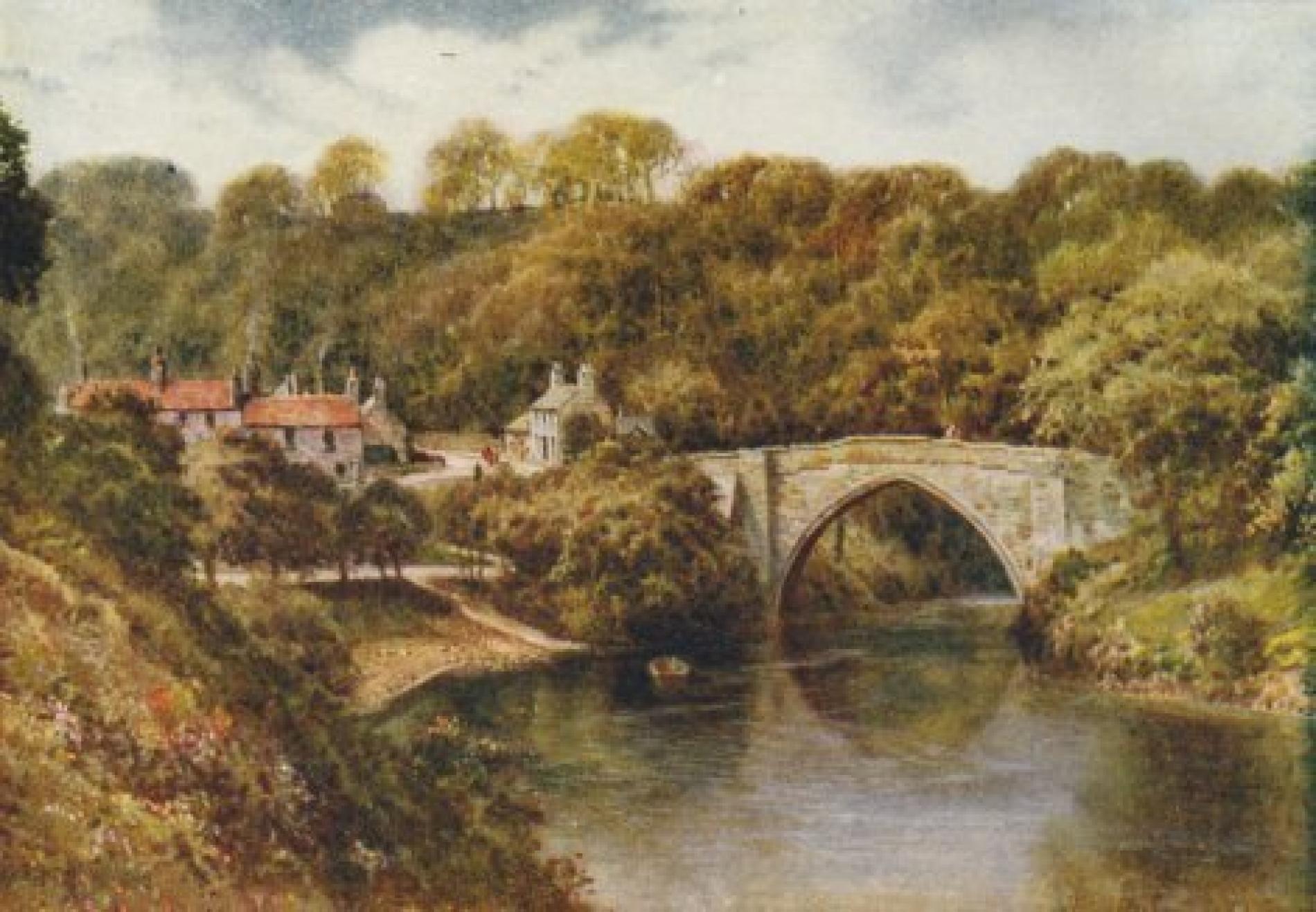The Famous Aberdeen Bridge Brig O Balgownie