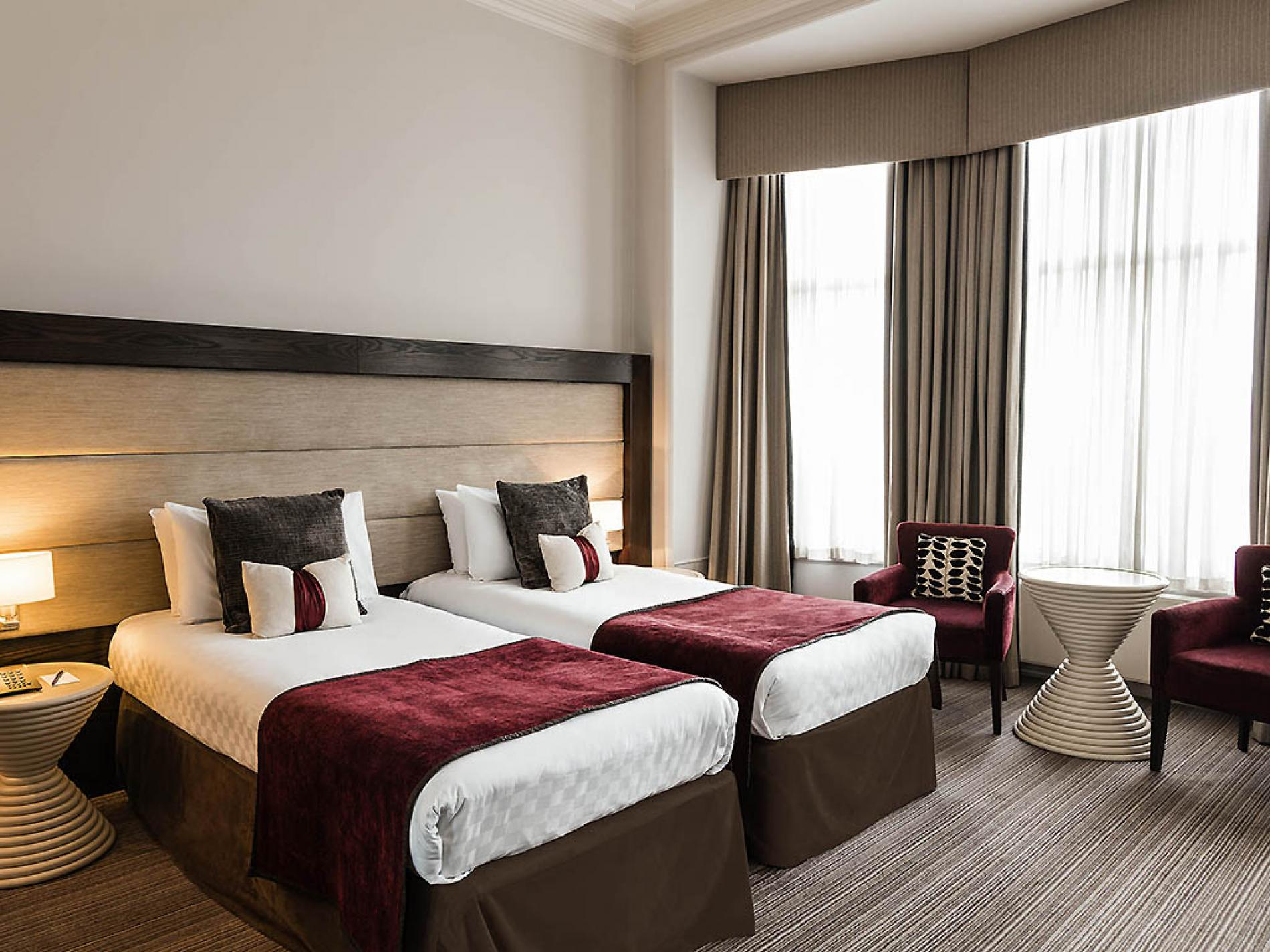 Stay at the stylish mercure aberdeen caledonian hotel for 10 14 union terrace aberdeen ab10 1we
