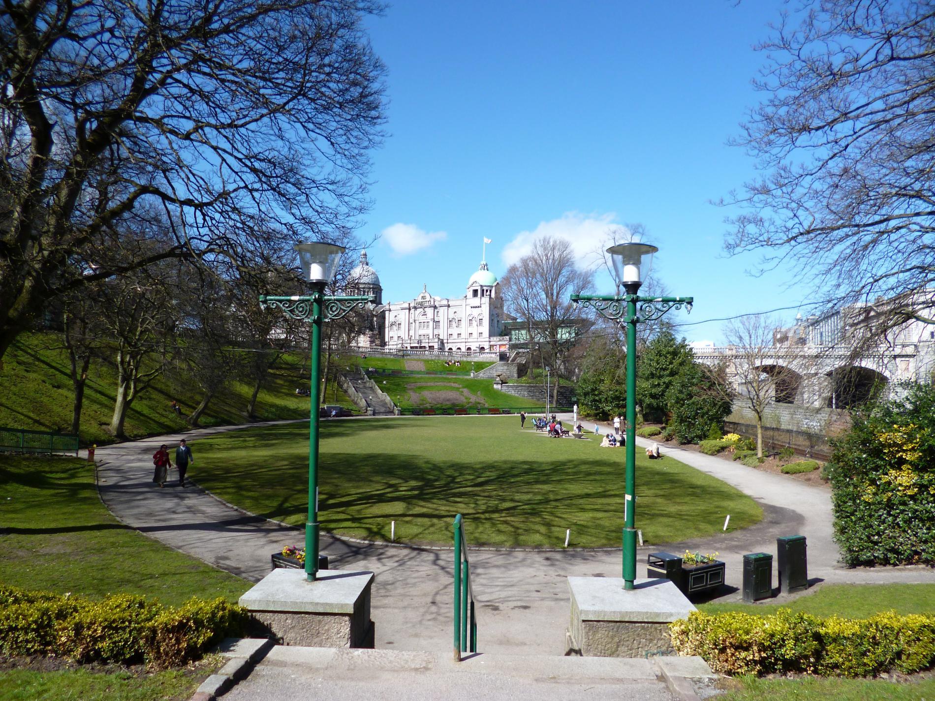 Union terrace gardens in aberdeen city centre for Terrace 33 city garden