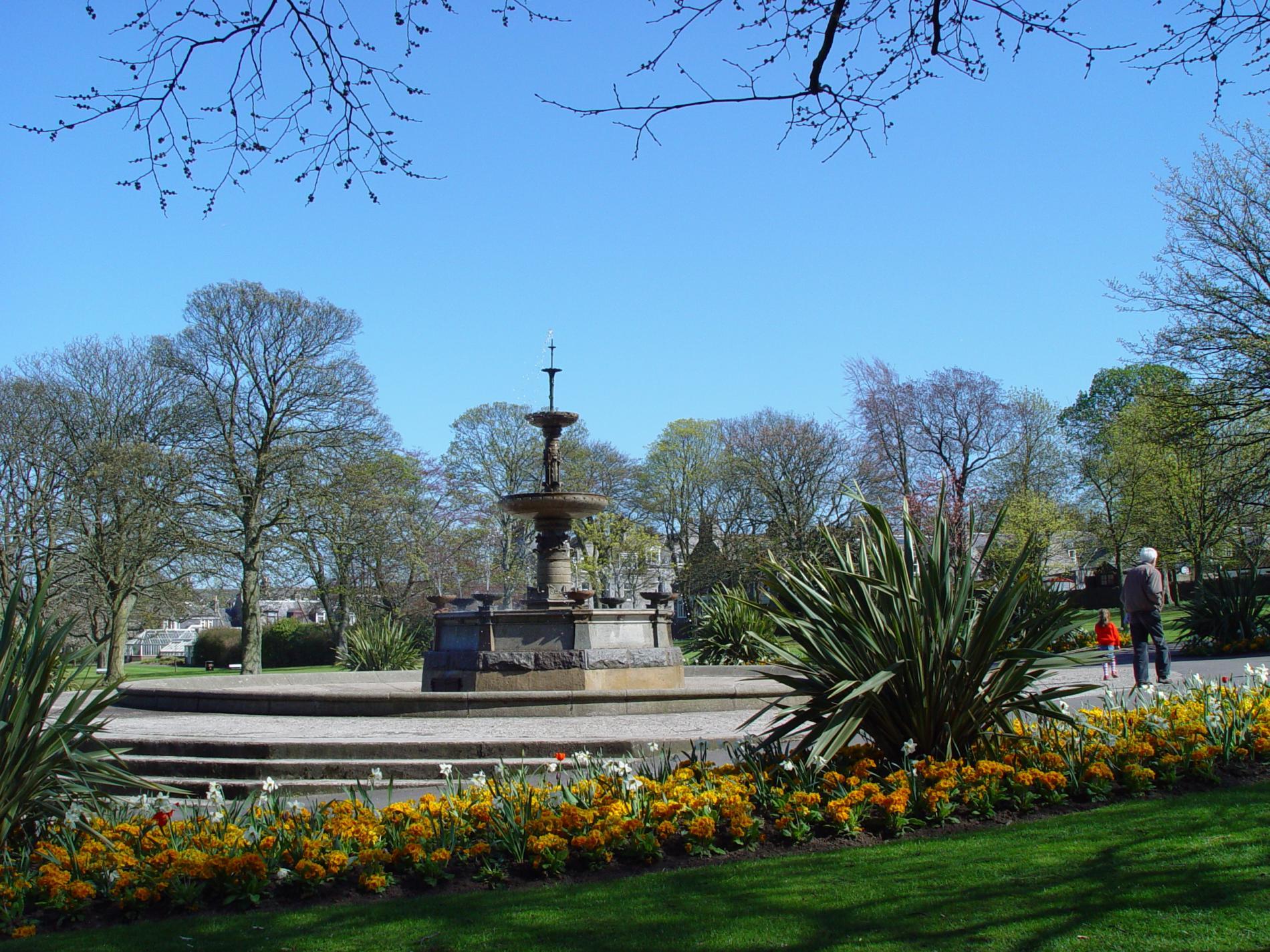 Quarry Shade Garden At Bon Air Park: Victoria Park In Aberdeen With Sensory Garden