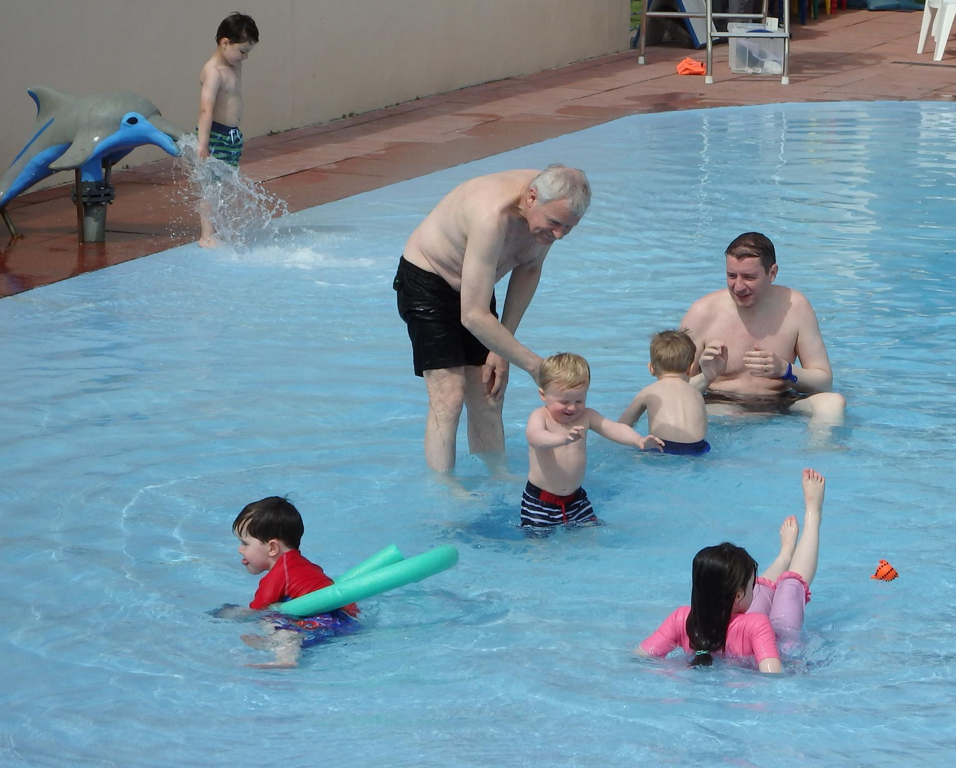 Go For A Dip At Stonehaven Heated Open Air Pool