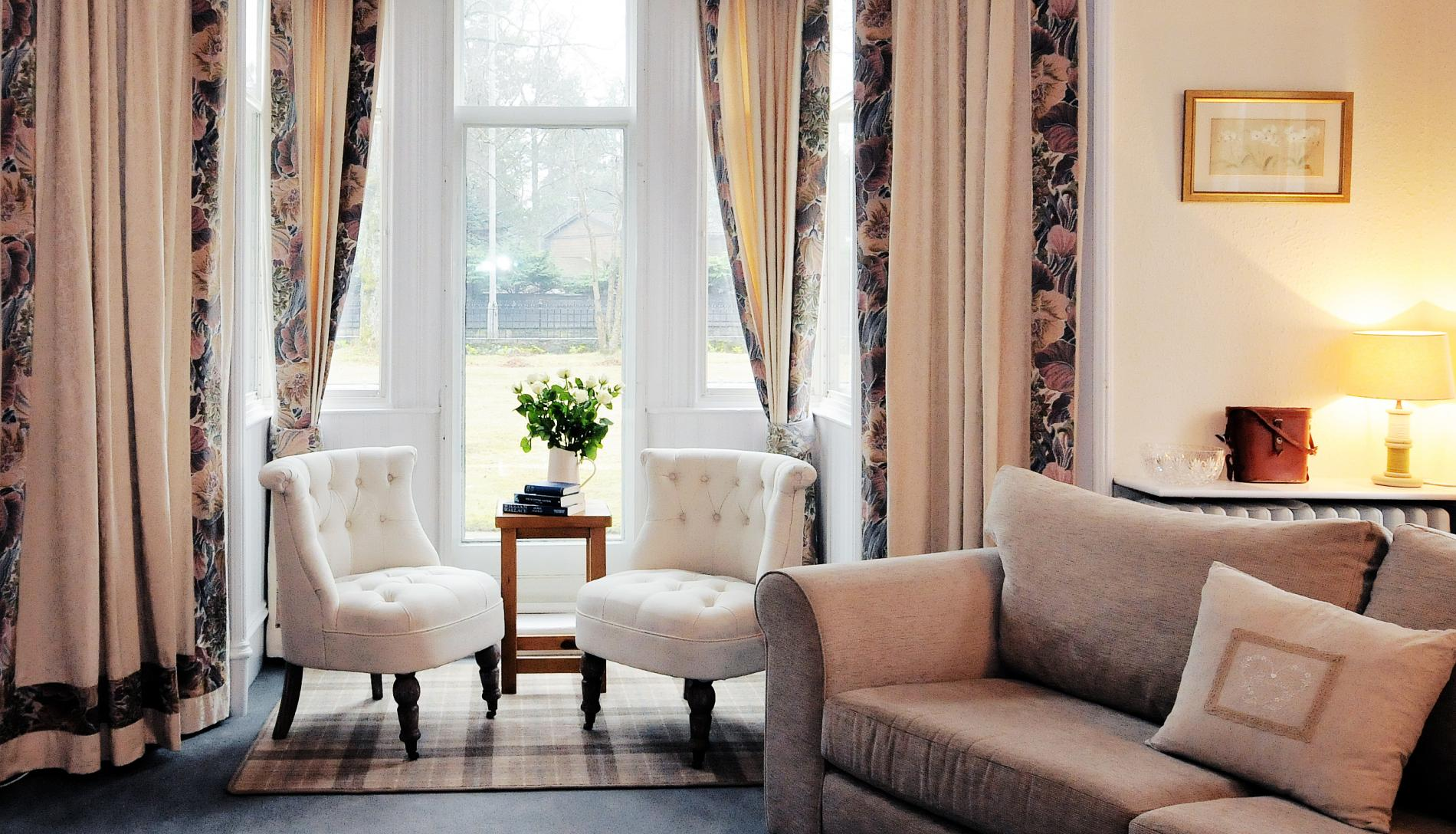 Stay At Gold Award Struan Hall Guest House On Royal Deeside