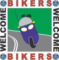 Bikers Welcome Scheme Logo