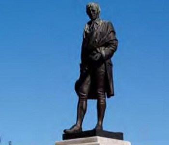 Robert Burns Statue edit